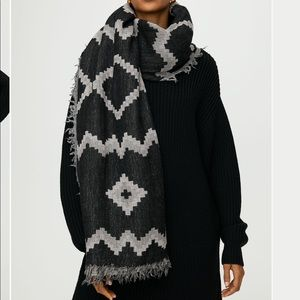 Wilfred Diamond Mosaic Blanket Scarf